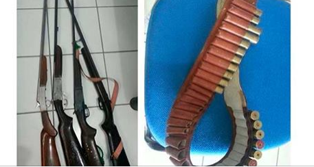 Homem é preso com quatro espingardas em Delmiro Gouveia
