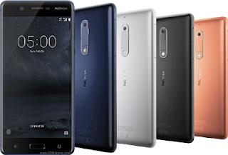 Harga Terbaru Nokia 5, Spesifikasi Kamera 13 MP Lengkap