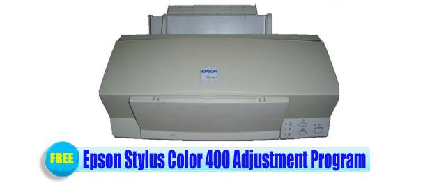 Epson Stylus Color 400 Adjustment Program