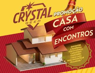 Cadastrar Promoção Casa Com Encontros Cerveja Crystal 2018 Tampinha