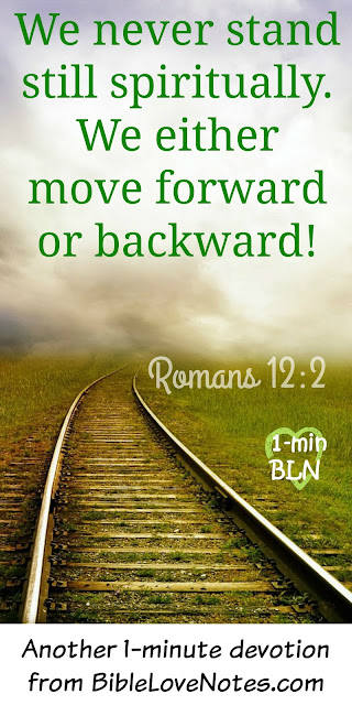 Without God's Word, we go backward spiritually, Jesus, Bible, Christiain growth