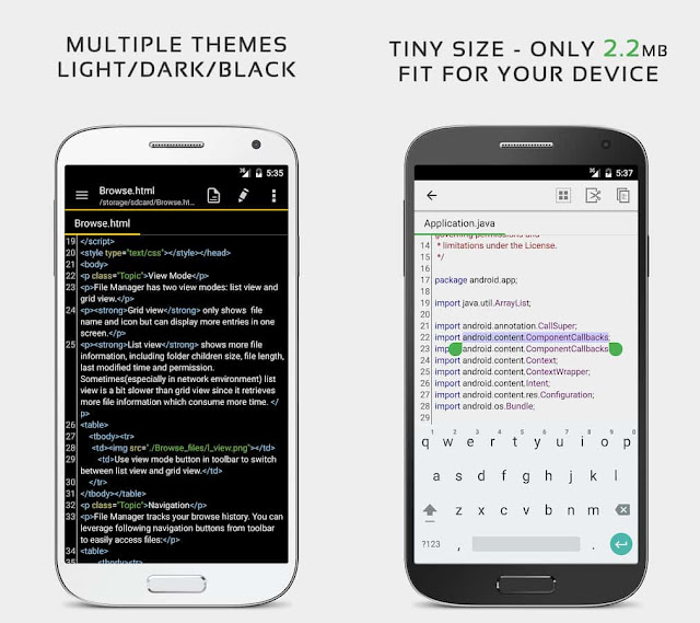 QuickEdit Text Editor For Android