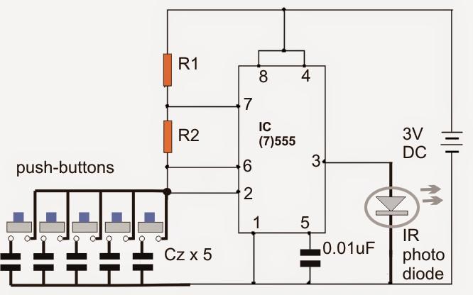 emergency lamp using ic 555