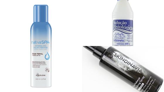 fixador maquiagem pele com acne
