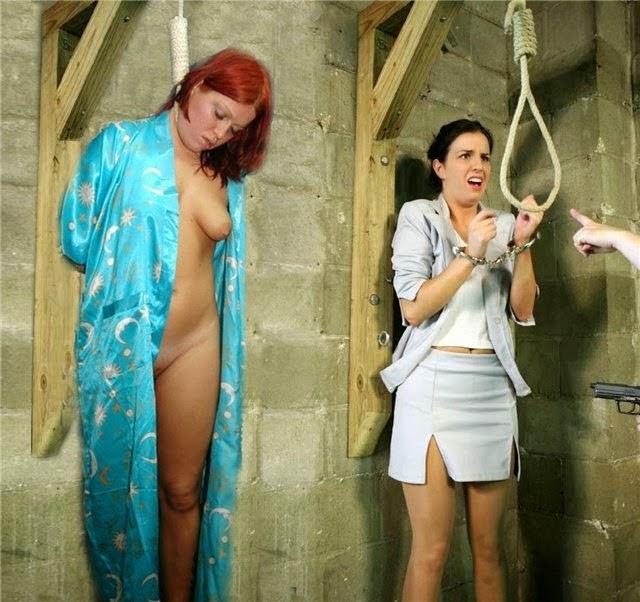 Порно видео казни женщин