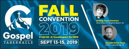 9-15 Fall Convention, Coudersport Gospel Tabernacle
