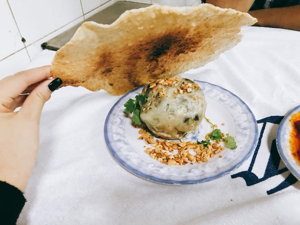 Món lươn đùm Nha Trang