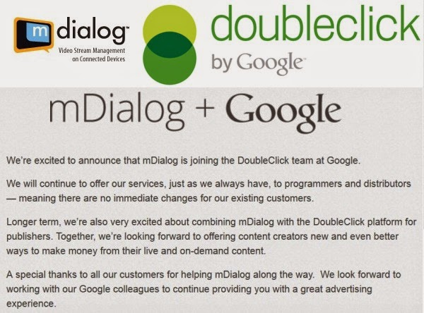 Google Acquires mDialog To Boost DoubleClick
