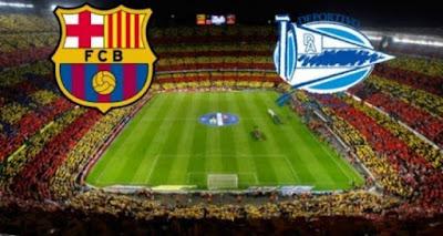 مشاهدة مباراة برشلونة  وديبورتيفو ألافيس اليوم بث مباشر فى الدورى الاسبانى