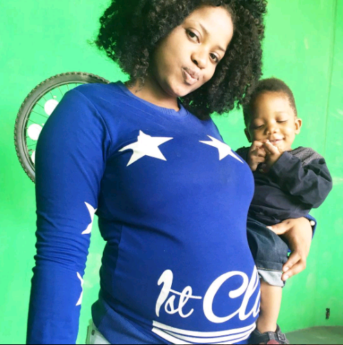 Duncan Mighty's wife is pregnant