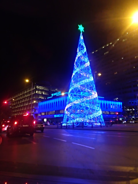 Asi son los árboles de Navidad de este año en Madrid