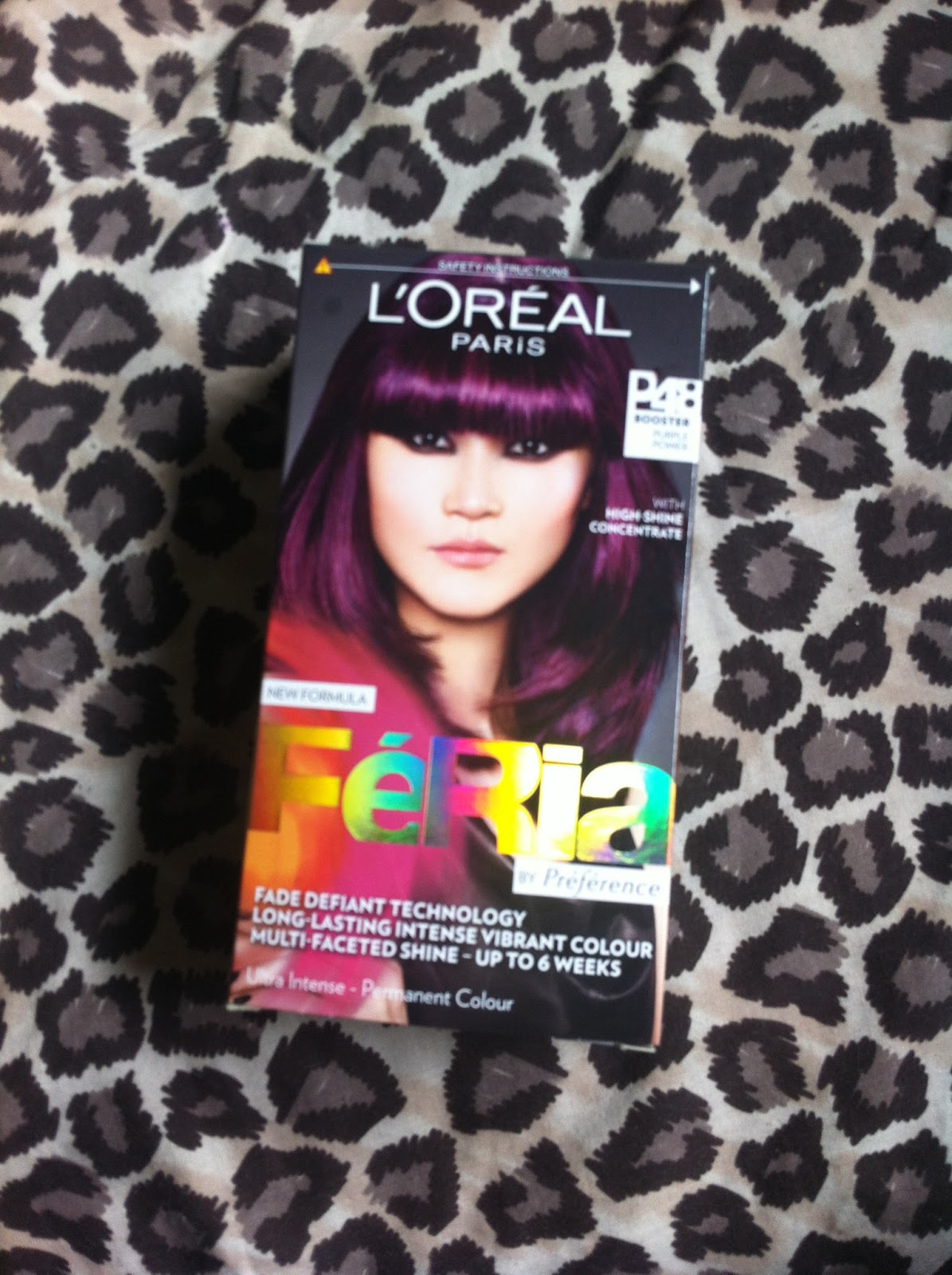 L Oreal Paris Feria Hair Dye