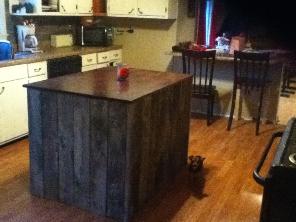 Kitchen Island Diy Projects: Life With Laken: DIY Kitchen Island Project