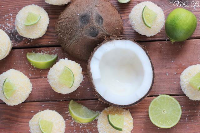 Sommerliche Kokos-Limetten-Cupcakes