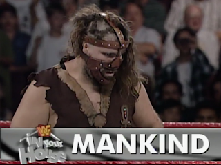 WWF / WWE - IN YOUR HOUSE 9: International Incident - Mankind Beat Henry Godwin in a boring match