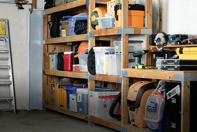 Build Your Own Garage Storage