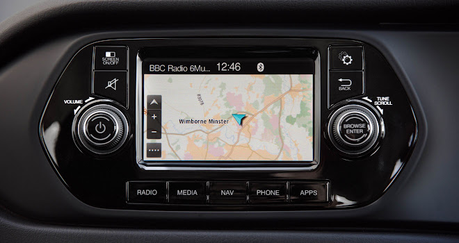 Fiat Tipo touchscreen