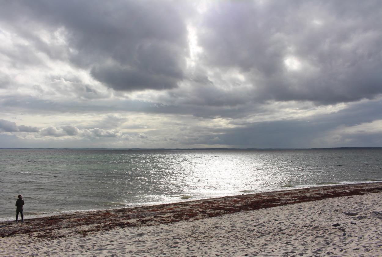 Dänemark: Südjütland. Strand auf Kegnaes