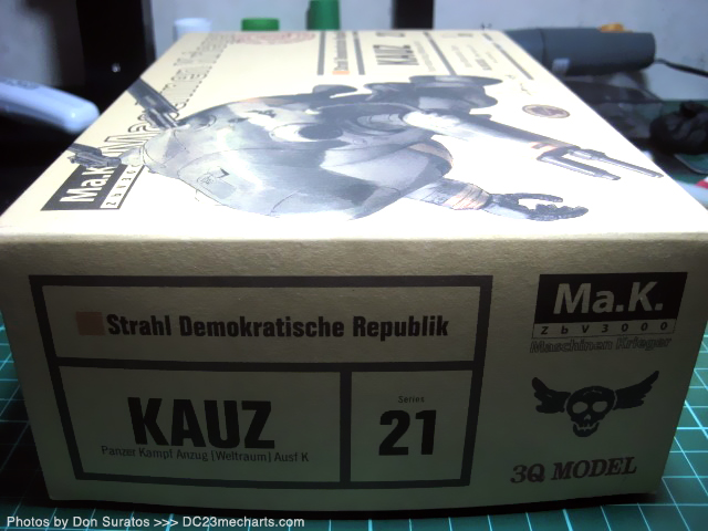 MaK KAUZ 3Q model Photos