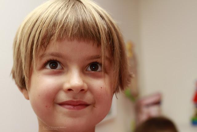 Ritratto di bambina con il Canon EF 50mm f/1.8 II a F:5