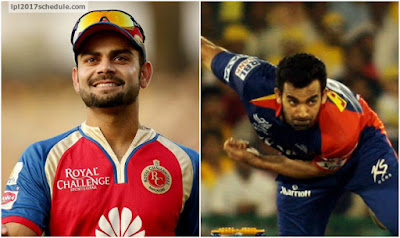 Royal Challengers Bangalore (RCB) vs Delhi Daredevils (DD) IPL 2017 Match Prediction