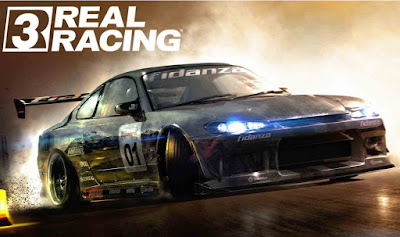 download game Real Racing 3 Mega Mod v4.1.6 Apk+Data money and cara