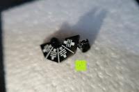eins: UM Schmuck Rostfreier Stahl Puzzle Paare Halskette fur Sie und Ihn Tai Chi Yin Yang Teilt Anhanger