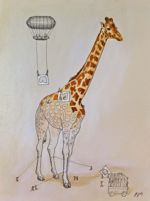 00-Creation-of-the-Giraffe-Ricardo-Solis-Animal-Paintings-and-their-Back-Story-www-designstack-co