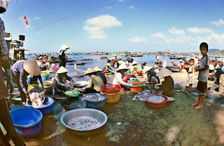 Discover the Life in Ham Ninh Fish Village