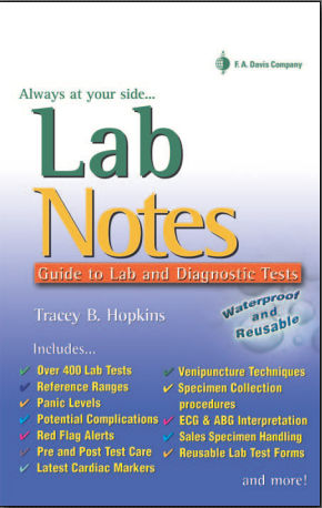 Lab Notes Guide to Lab Diagnostic Tests [PDF]- Tracey B. Hopkins
