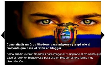 Como agregar a mi blog de blogger un Slideshow automatico
