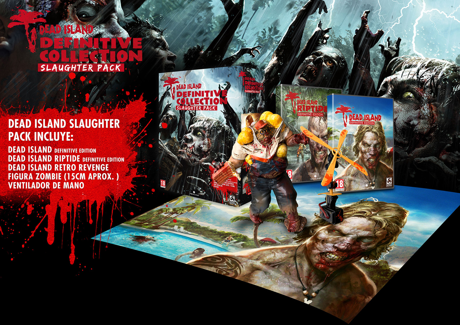 Dead Island Collection Slaughter Pack llega mañana a PlayStation 4