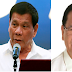 Duterte on Tatad's claim when he visited cancer hospital: 'Baka mauna pa siya sa kin'