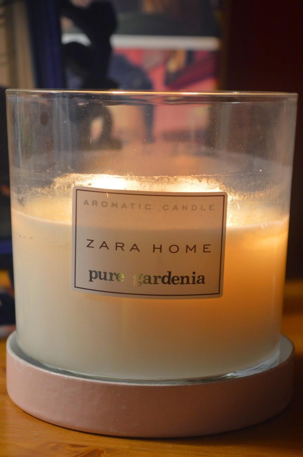 Cheap Body Shop >> Zara Home Pure Gardenia Candle - Caroline Hirons