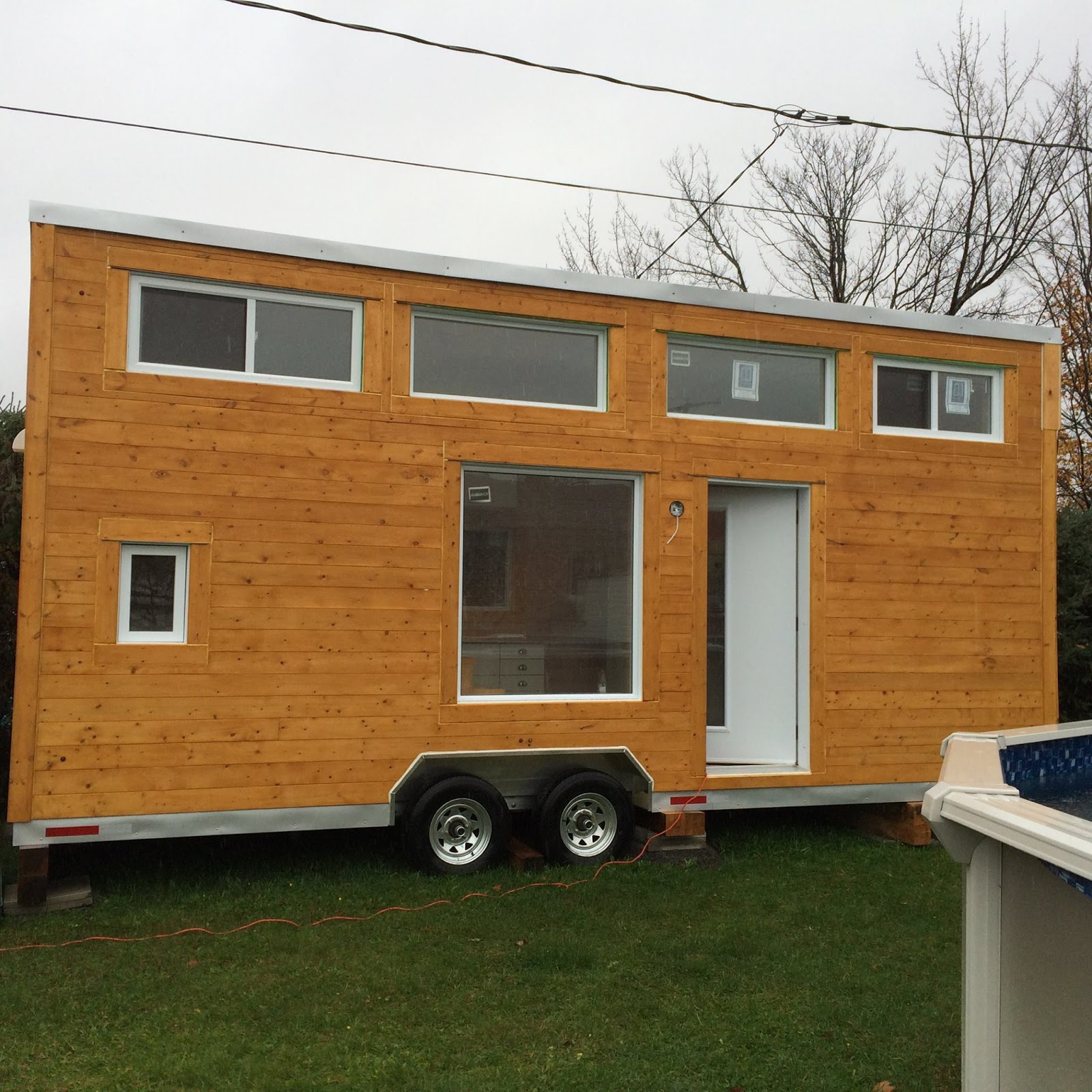 8 Staycation Worthy Tiny Homes For Sale: TINY HOUSE TOWN: Mini Green House
