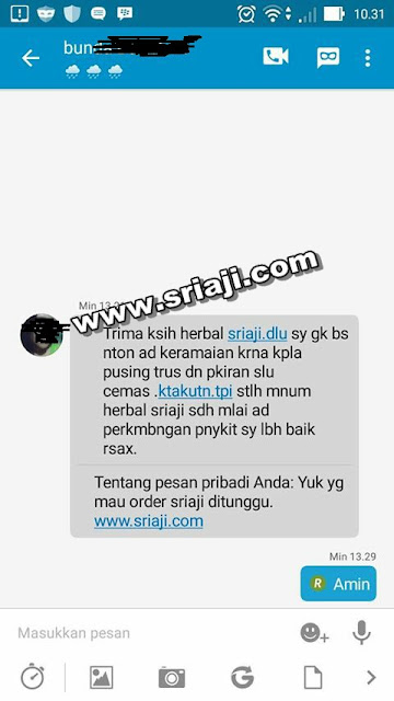 testimoni 1 herbal sriaji