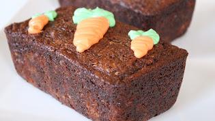 Mini Carrot Loaves