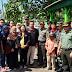 Partisipasi Mahasiswa UMM Malang Sambut Kunjungan Wasev Di Lokasi TMMD 102