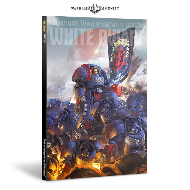 White Dwarf enero 2019 portada suscriptores