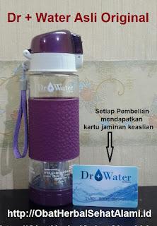 Manfaat Botol Dr+Water untuk obat diabetes penurun kadar gula