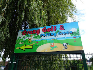 Crazy Golf and Putting Green at Riverside Park in Stourport on Severn
