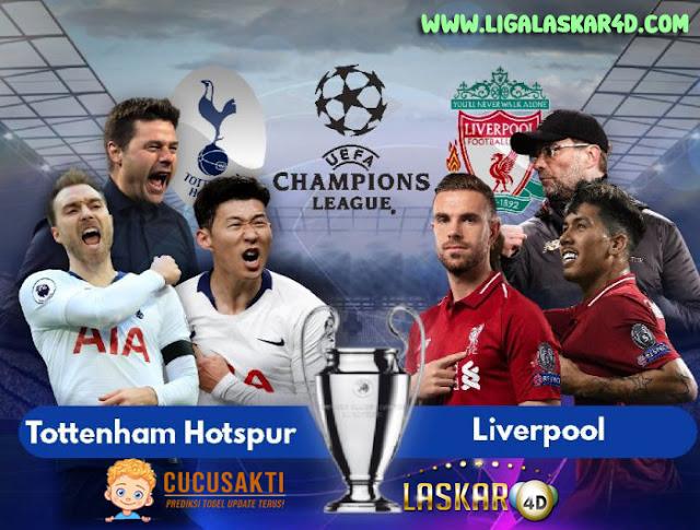 Prediksi Pertandingan Bola Liverpool vs Tottenham Hotspur 27 Oktober 2019