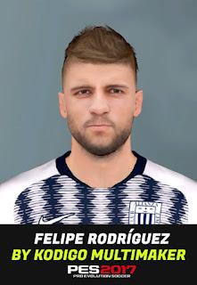 PES 2017 Faces Felipe Rodriguez by Kodigo