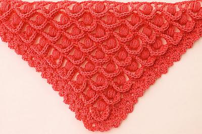3 - Crochet IMAGEN Punto para chal muy fácil y sencillo. MAJOVEL CROCHET
