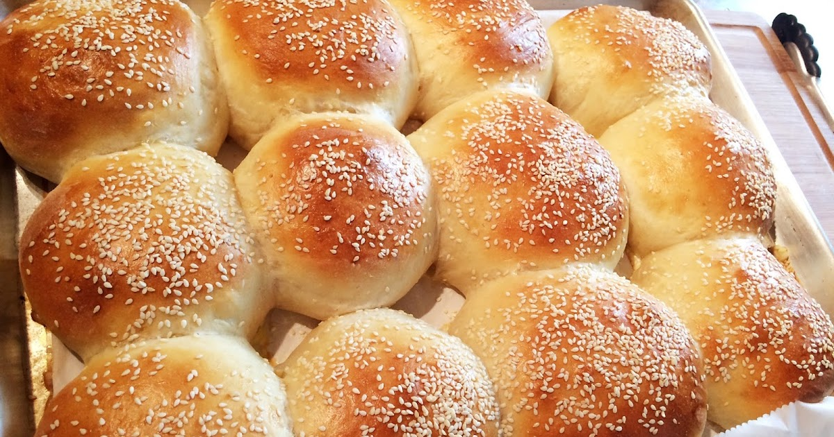 hamburger buns bread machine