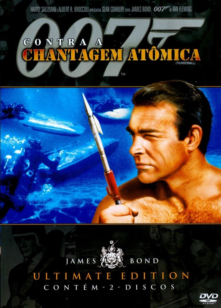 Poster do filme 007 Contra a chantagem atômica