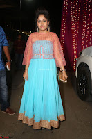 Madhvi Latha in Spicy Transparent Anarkali Dress at Zee Telugu Apsara Awards 2017 43.JPG