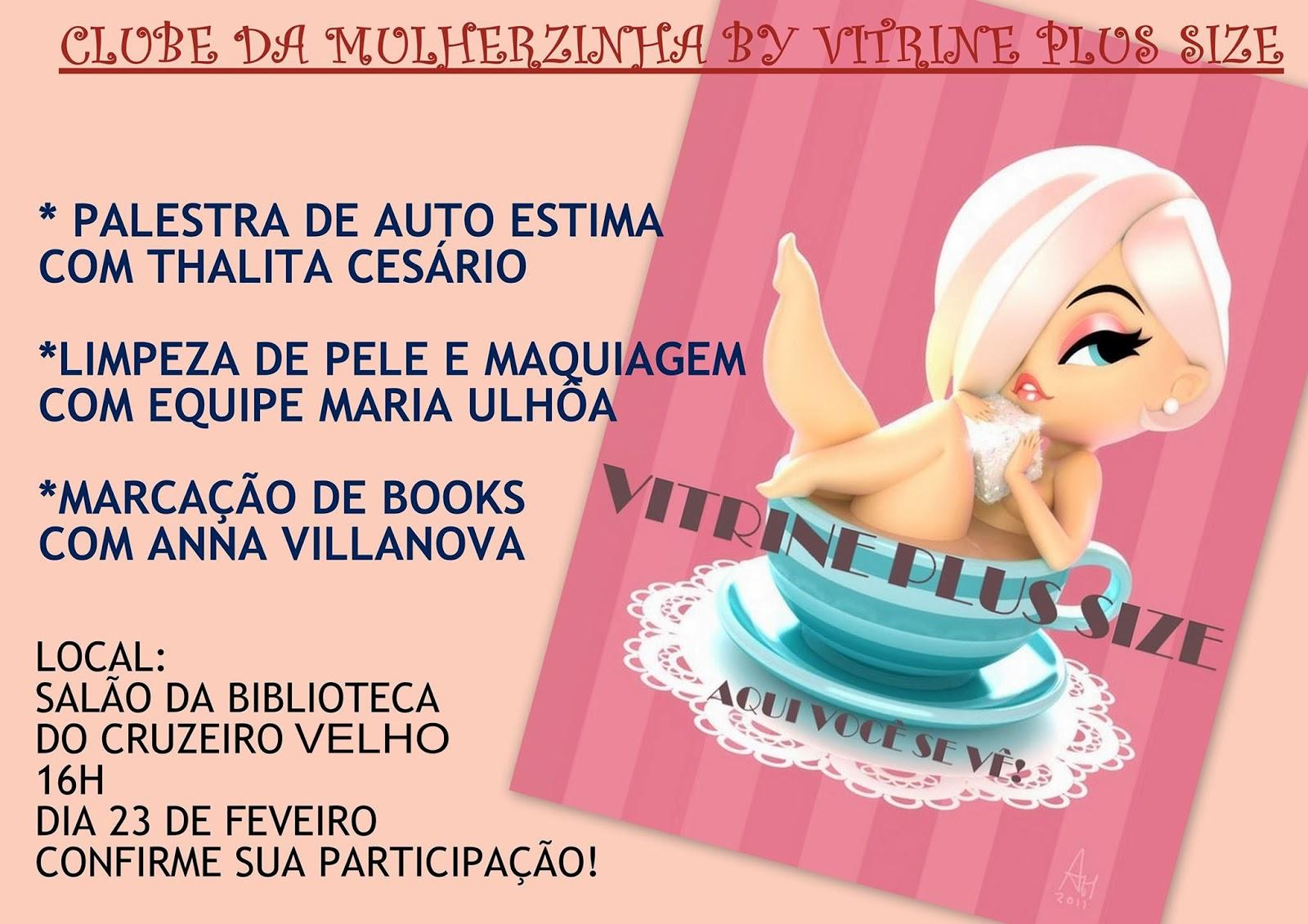 Evento em parceria com Vitrini Plus Size