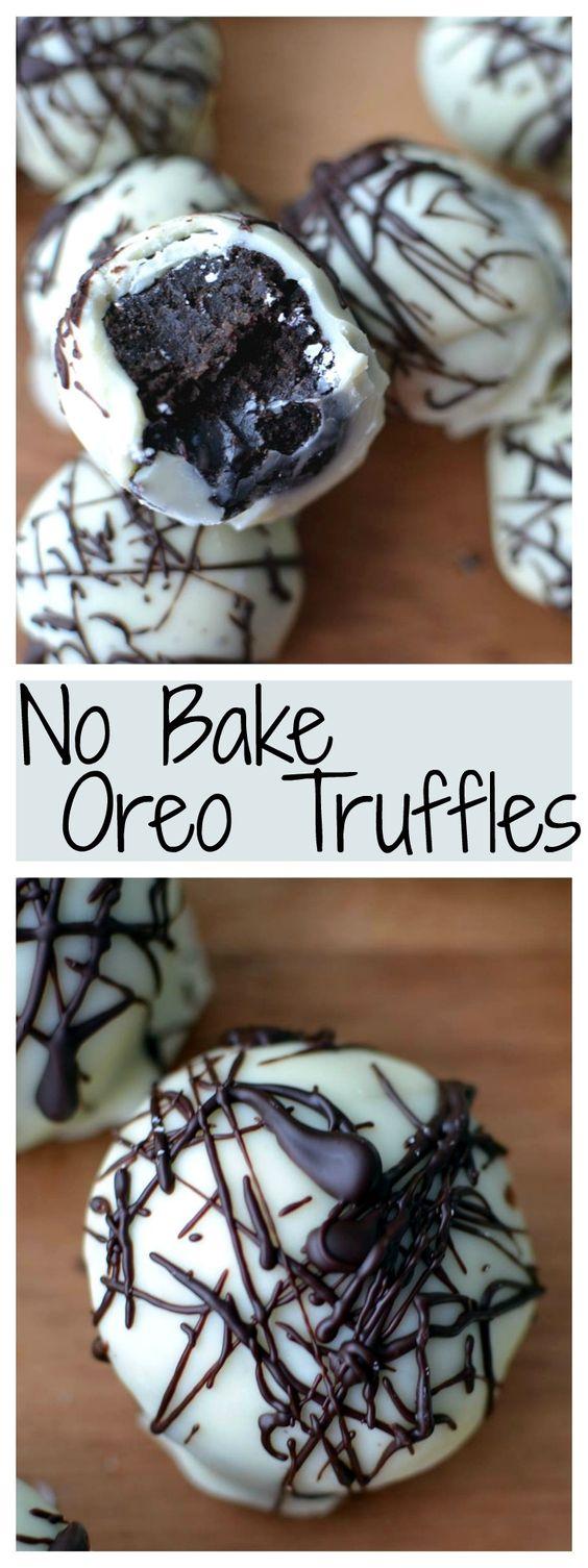 Oreo Balls #dessert