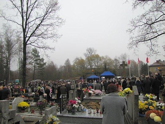 Cmentarz w Bydlinie.
